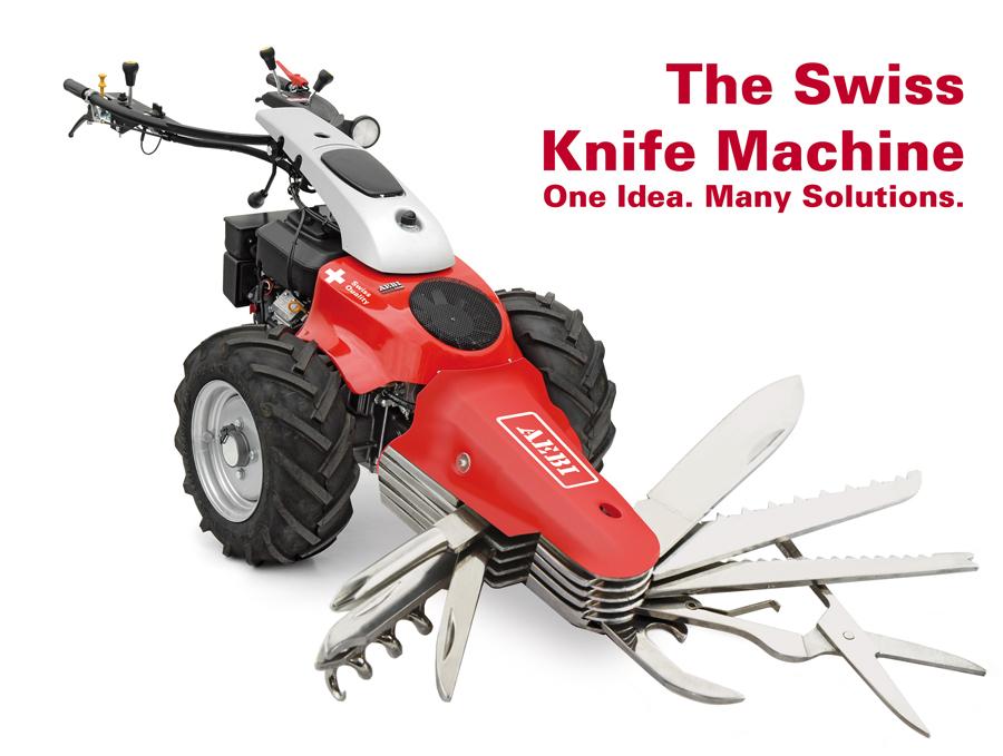 Armasuisse Counts On Swiss Knife Machine Aebi Schmidt