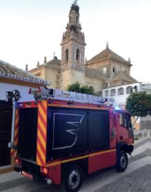 Aebi MT750 Feuerwehr Sevilla