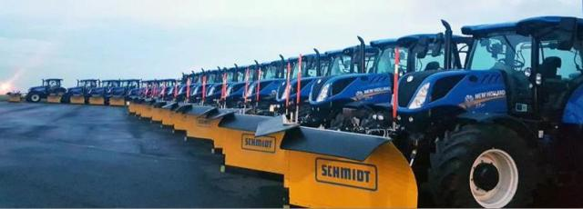 Dublin Airport selects Schmidt snow ploughs to prepare for this winter s  weather 02923a296e0fa